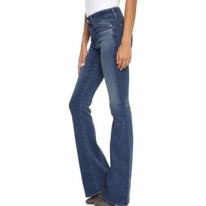 AG Adriano Goldschmied Fitted Flare Jeans